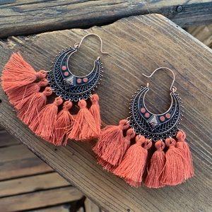 CHEROKEE Tassel Earrings